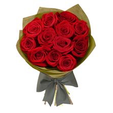 36 Red Roses Hand Bouquet
