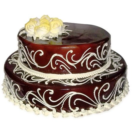 2 Tier Chocolate Cake