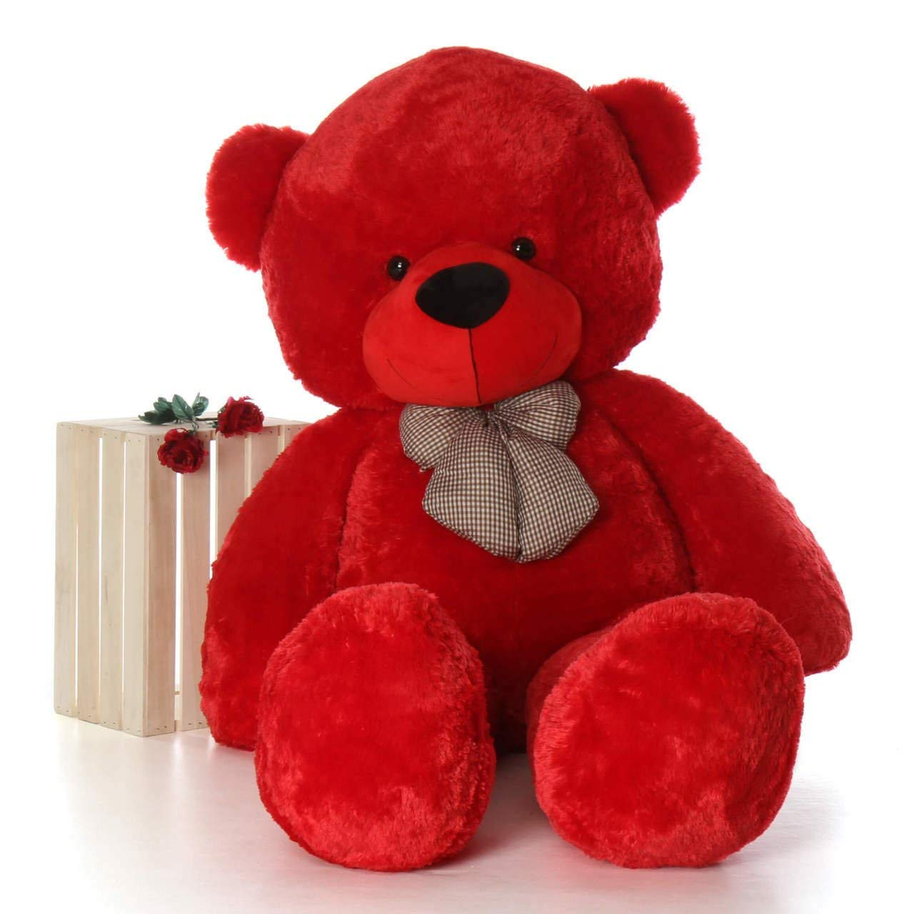 3 Feet Red Teddy