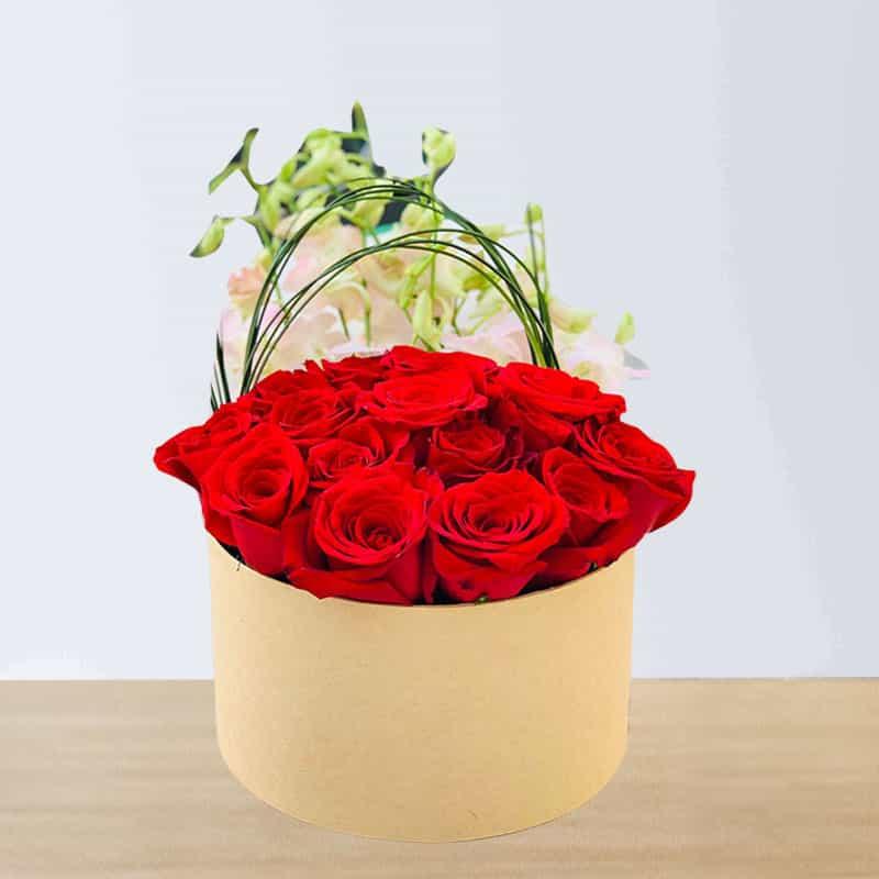 Loving Red Rose Box