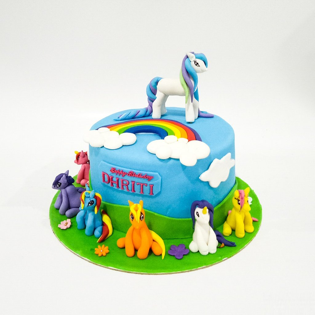 2Kg Animal Theme Cake