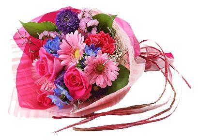 Roses , Carnations & Gerberas