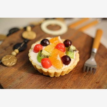 Fruit Tart Cupcake