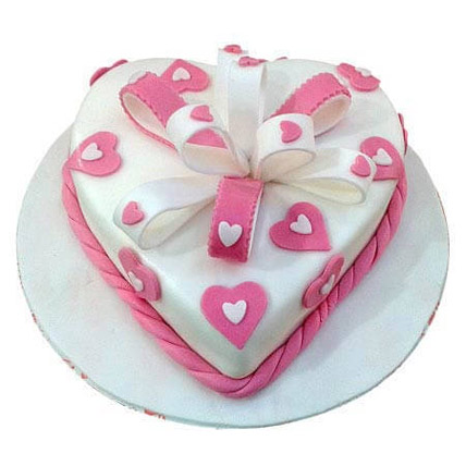 Heart Soft Plush Cake