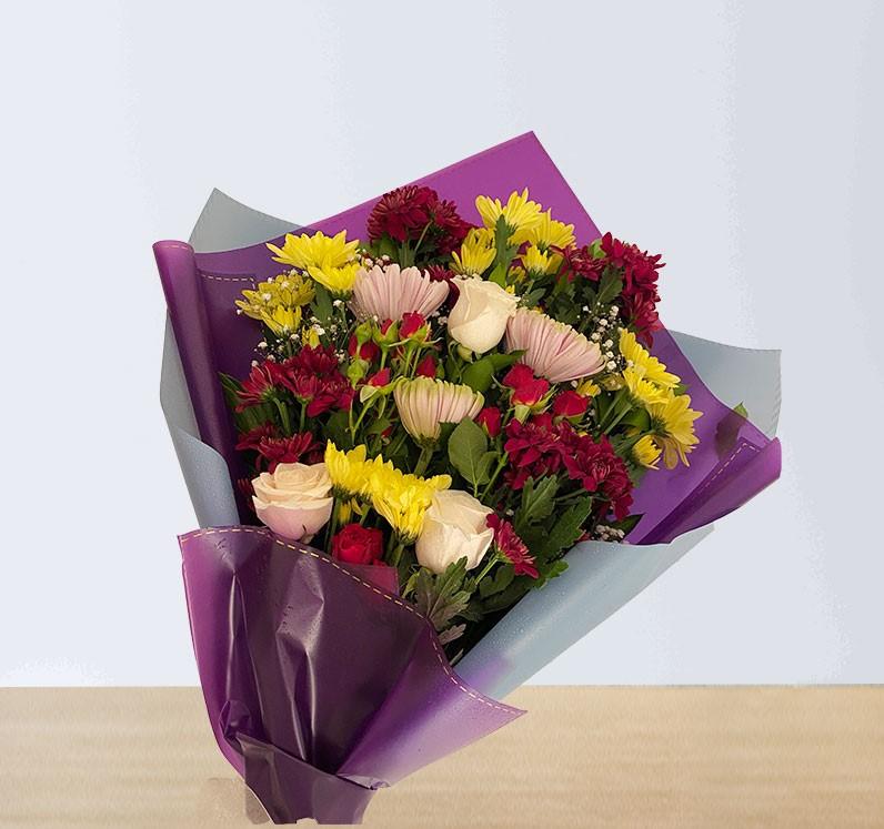 Mixed Chrysanthemums Bouquet