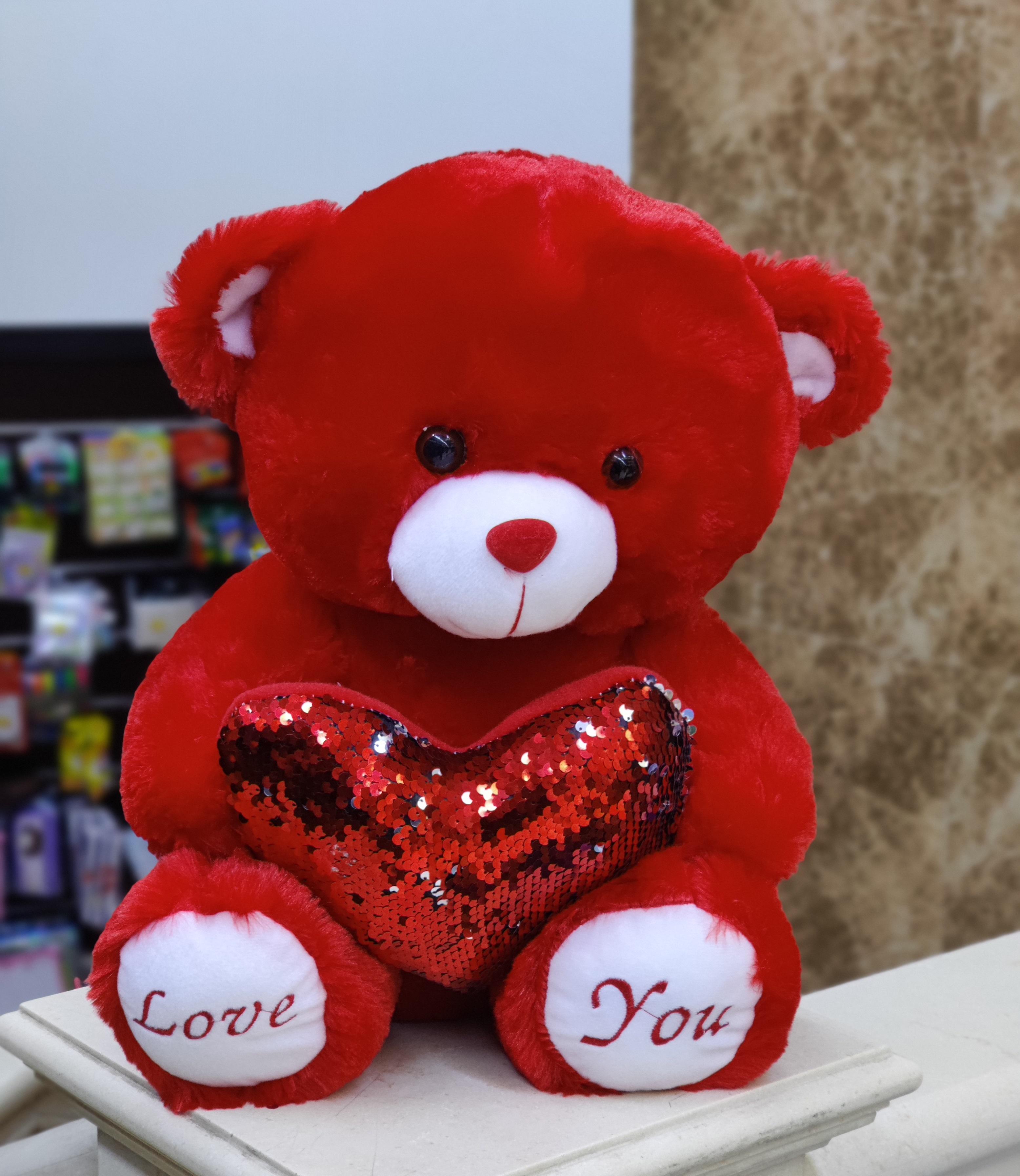 Red Teddy 40Cm