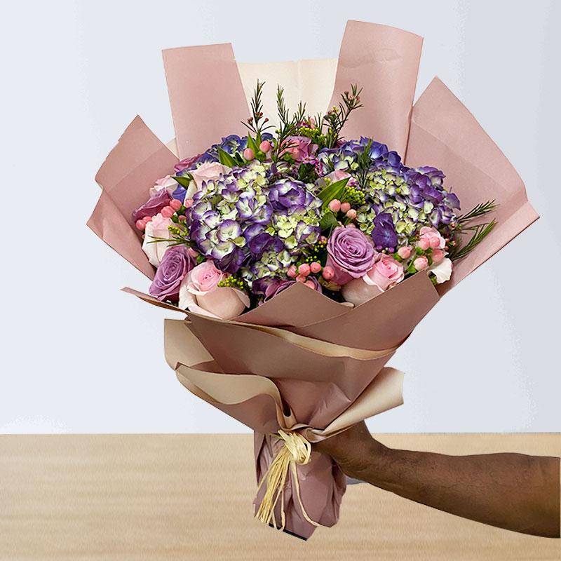 Mixed purple Bouquet