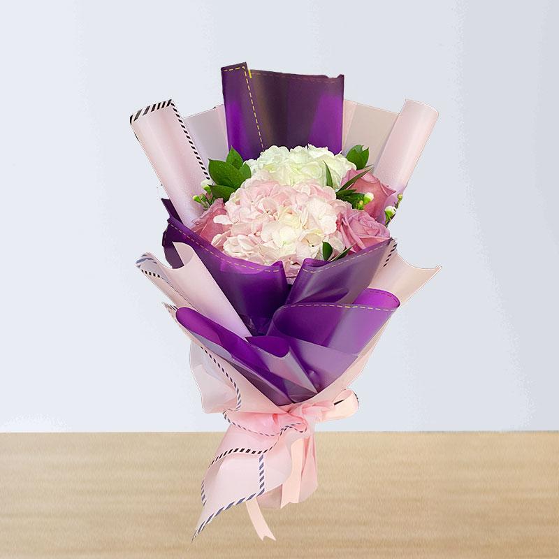 Hydrangea Flowers Bouquet
