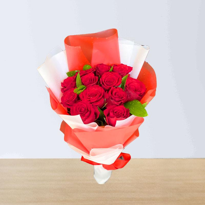 12 Red Rose