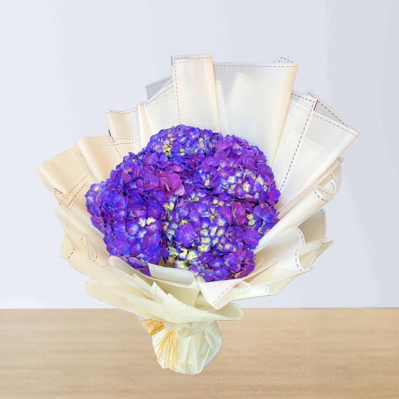 Purple Hydrangea Bouquet