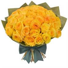 36 Long Stem Yellow Roses Bouquet