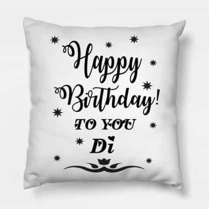 Birthday Cushion For Sister