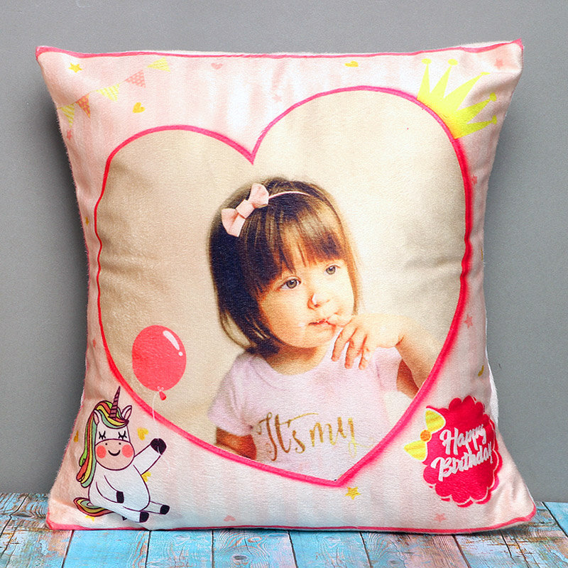 Personalized Birthday Pillow For Baby