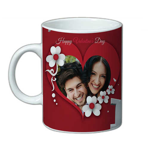 Personalized Valentines Day Cup