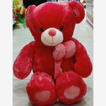 3 Feet Dark Pink Teddy