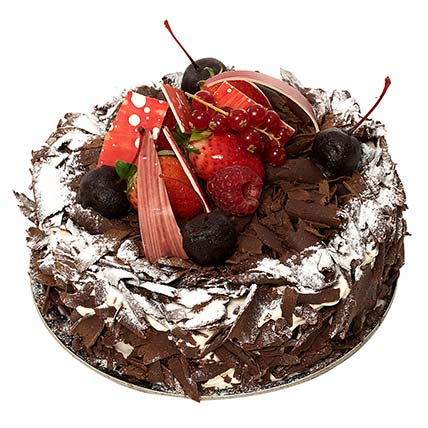 portion blackforest cake