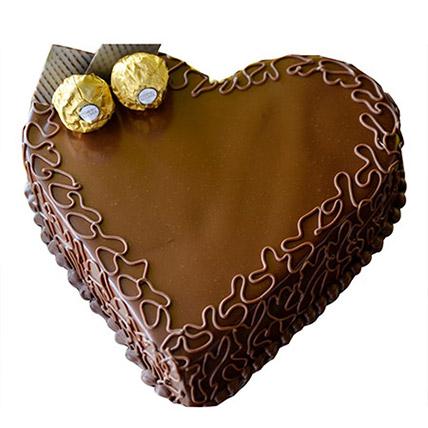 1kg Heart Choco Cake