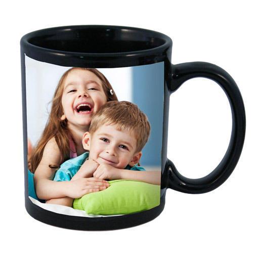 Personalized Black Sibling Mug