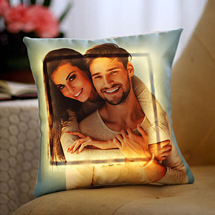Led Personalized Romantic Pillow