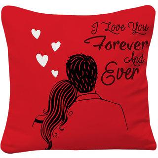 Love You Forever Custom Pillow