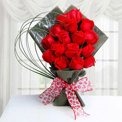 Red Roses For Valentine
