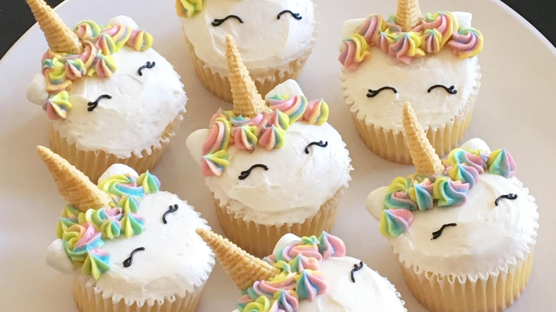 Dreamy Unicorn Cupcake